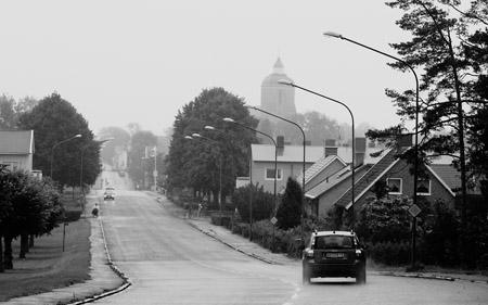 En regngrå tisdagseftermiddag i Skänninge