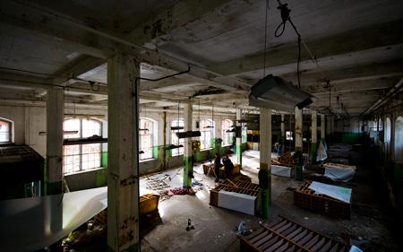 Full aktivitet i fabriken